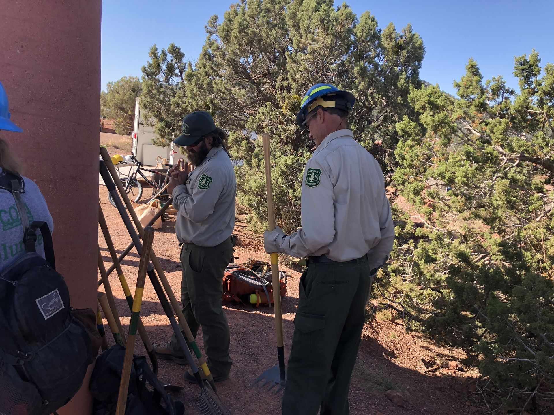 Verde Valley Cyclists Coalition Trail Work Day Season Wraps Up